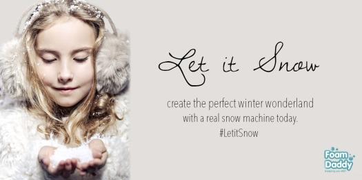 Snow facebook ad