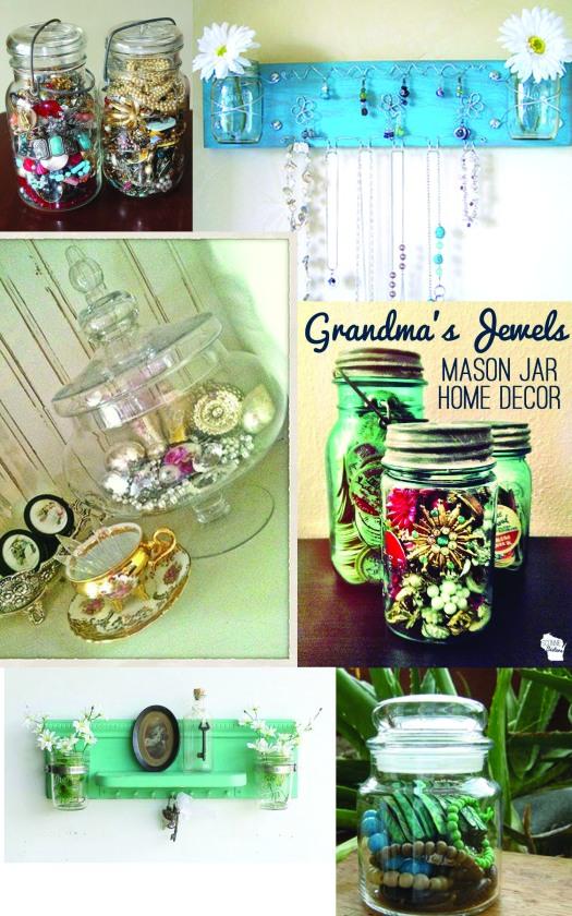 Jewelry Jars Montage