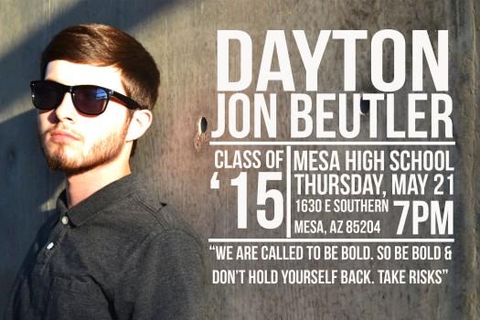 Dayton Grad Announcement